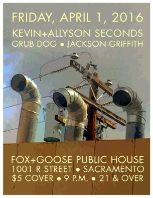 kevin+allyson seconds @ fox and goose
