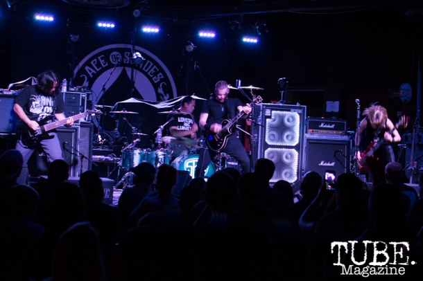 Some Fear None playing at the Ace of Spades in Sacramento, CA. March 2016. Photo Alejandro Montaño