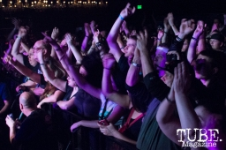 Crowd during Pop Evil playing at the Ace of Spades in Sacramento, CA. March 2016. Photo Alejandro Montaño