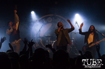 Pop Evil playing at the Ace of Spades in Sacramento, CA. March 2016. Photo Alejandro Montaño