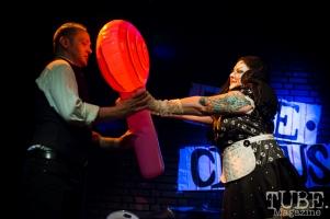 Patty La Melt. TUBE. Circus, Blue Lamp, Sacramento, May 2016. Photo Melissa Uroff