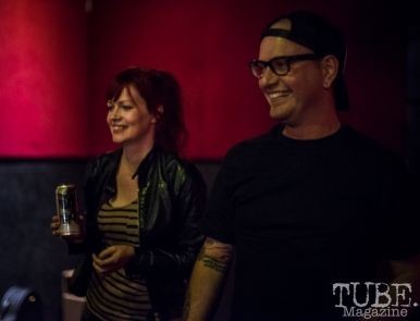 Kat McMahon and Andy Simpson. TUBE. Circus, Blue Lamp, Sacramento, May 2016. Photo Melissa Uroff
