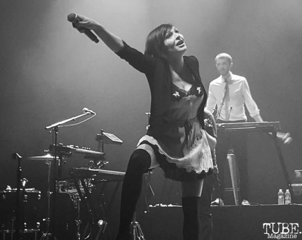Caravan Palace singer, Zoé Colotis, Fox Theater, Oakland, CA.June 8,2016. Photo Anouk Nexus