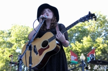 Hannah Jane Kile, Concerts in the Park, Cesar Chavez Park, Sacramento, CA. July 8, 2016. Photo Anouk Nexus