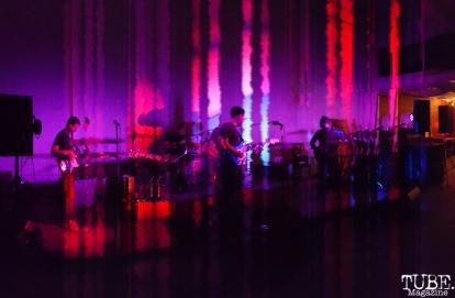 Vocalist/Guitarist Joseph Brandel, Vocalist/Guitarist Bernie Gelman, Drummer Logan Bean, and Bassist of Moe Meguro, Red Museum, Sacramento, CA. July 17, 2016. Photo Anouk Nexus
