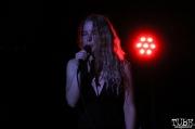 Vocalist Sydney Jones of Separate Spines, Red Museum, Sacramento, CA. July 17, 2016. Photo Anouk Nexus
