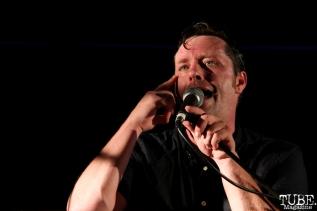 Vocals/Keyboardist Kelly Finnigan of Monophonics, Davis Community Park, Davis, CA. July 4, 2016. Photo Anouk Nexus