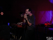 Vocalist Buddy Hale of Separate Spines, Red Museum, Sacramento, CA. July 17, 2016. Photo Anouk Nexus