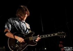 -Guitarist/Backup Vocals Vocals Ian McDonald of Monophonics, Davis Community Park, Davis, CA. July 4, 2016. Photo Anouk Nexus