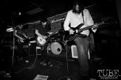 Guitarist Jonathan Mono, guitarist/vocalist Jsun Adams, & bassist Josh Kalberg of Daydream Machine, Pets CD Release show, Hideaway, 8/20/16. Photo: Charles Gunn