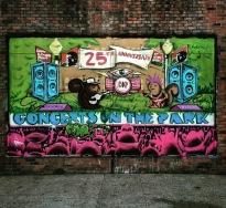 Concerts in the Park Mural, @R2Romero, 1020 J Street, Sacramento, CA
