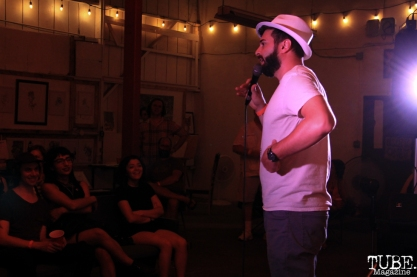 People Power Comedy Hour, Sac Stay Home Fest, Red Museum, Sacramento, CA. August 13, 2016. Photo Anouk Nexus