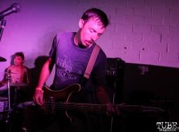Bassist of Trash Magic, Sac Stay Home Fest Red Museum, Sacramento, CA. August 13, 2016. Photo Anouk Nexus