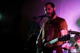 Vocalist/Guitarist of Trash Magic, Sac Stay Home Fest, Red Museum, Sacramento, CA. August 13, 2016. Photo Anouk Nexus