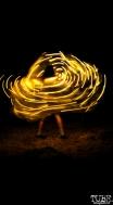 Maia Valentine dancing, Sac Stay Home Fest, Red Museum, Sacramento, CA. August 13, 2016. Photo Anouk Nexus
