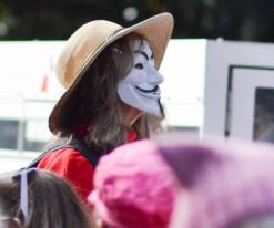 Woman's March Sacramento, January 21, 2017. Photo Dan Tyree
