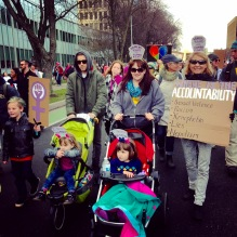 Woman's March Sacramento, January 21, 2017. Photo Rachel Harcourt.