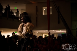 Retrospect Vintage Fashion, Vintage Swank ArtMix, Crocker Art Museum, March 2017. Photo Melissa Uroff