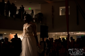 Retrospect Vintage Fashion, Vintage Swank ArtMix, Crocker Art Museum, March 2017. Photo Melissa Uroff