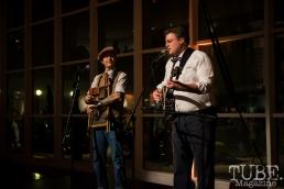 Freebadge Serenaders performing at Vintage Swank ArtMix, Crocker Art Museum, March 2017. Photo Melissa Uroff
