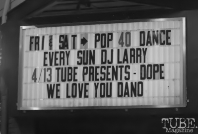 TUBE.'s dance party and coloring book issue release, DOPE. The Press Club, Sacramento CA. April 2017. Photo Dan Tyree.
