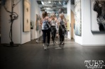 The crowd explores the Art Market, in San Francisco. April 2017. Photo Heather Uroff