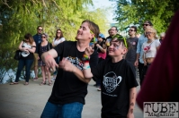 Alan Brown and Connor McDonald. First Festival. River Walk, West Sacramento CA. Photo Melissa Uroff May 2017