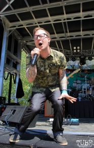 Ryan Sollom of Surviving The Era, First Festival, River Walk, Sacramento, CA. May 07, 2017. Photo Anouk Nexus