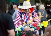 The Balloon Lady. Concert in the Park, Sacramento CA 2017 Photo Dan Tyree