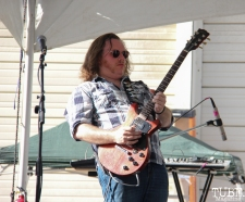 Vocalist/Guitarist Kolton James of Mondo Deco, R Street Block Party and Makers Mart, WAL Public Market, Sacramento, CA. June 24, 2017. Photo Anouk Nexus