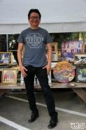 Photographer/artist Ruben Reveles, R Street Block Party and Makers Mart, WAL Public Market, Sacramento, CA. June 24, 2017. Photo Anouk Nexus