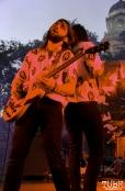 Guitarist Sam Plecker and Vocalist Derek Thomas of Vista Kicks, Concerts in the Park, Cesar Chavez Park, Sacramento, CA. June 30, 2017. Photo Anouk Nexus