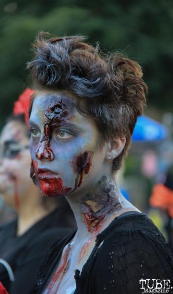 Sacramento Zombie Walk, Roosevelt Park, Sacramento, CA. August 26, 2017. Photo Anouk Nexus