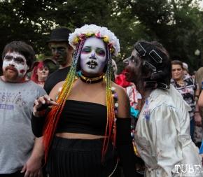 17th Annual Sacramento ZombieWalk.