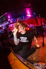Ben Dewy of HotBods at The Press Club in Sacramento, CA. August 10,2017. Photo: Cam Evans