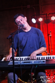 Hobo Johnson (Frank Lopes) performing at The Red Museum for Red Ex Volume 1 in Sacramento, CA (8-26-2017). Photo Cam Evans