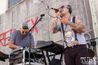 Young Aundee, featuring Dusty Brown at The Red Museum for Red Ex Volume 1 in Sacramento, CA (8-26-2017). Photo Cam Evans