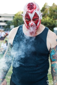 Sacramento Zombie Walk, Roosevelt Park, Sacramento, CA. August 26, 2017. Photo Mickey Morrow