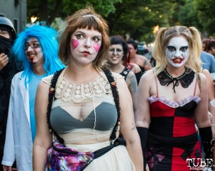 Sacramento Zombie Walk, Downtown, Sacramento, CA. August 26, 2017. Photo Mickey Morrow