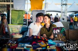 Aidan Doyle and Jessica Moore of Shop Old Gold, City of Trees, Papa Murphys Park, Sacramento CA, September 24, 2017 Photo Melissa Uroff