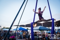 Sac Cirque, City of Trees, Papa Murphys Park, Sacramento CA, September 24, 2017 Photo Melissa Uroff