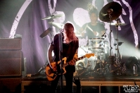 Lead Singer Laura Jane Grace & Drummer Atom Willard, Against Me! September 11, 2017, Sacramento CA. Photo Joey Miller