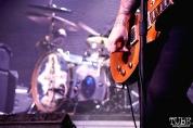 James Bowman and his guitar, Against Me! September 11, 2017, Sacramento CA. Photo Joey Miller