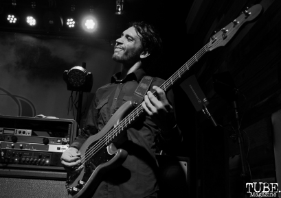Bassist of Stolas, Goldfield Trading Post, Sacramento, CA. September 5, 2017. Photo Anouk Nexus