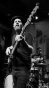 Bassist Jeff Jarvis of The Reign Of Kindo, Goldfield Trading Post, Sacramento, CA. September 5, 2017. Photo Anouk Nexus