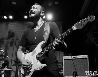 -Guitarist John Baab of The Reign Of Kindo, Goldfield Trading Post, Sacramento, CA. September 5, 2017. Photo Anouk Nexus