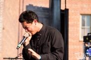 Hobo Johnson (Frank Lopez) performing at HOFDAY in Sacramento, CA (9/16/2017). Photo Cam Evans.