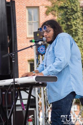 The Philharmonik performing at HOFDAY in Sacramento, CA (9/16/2017). Photo Cam Evans.