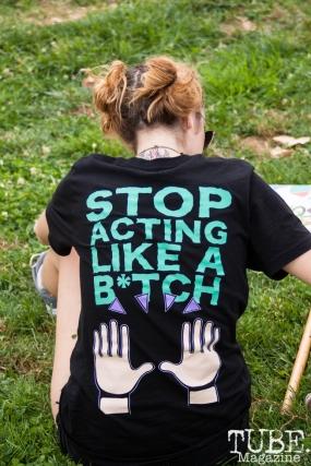 Braveheart's shirt at HOFDAY in Sacramento, CA (9/16/2017). Photo Cam Evans.