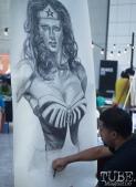 :Wonder Woman, Art Mix Crocker-Con, Crocker Art Museum, Sacramento, CA, September 14, 2017, Photo by Dan Tyree